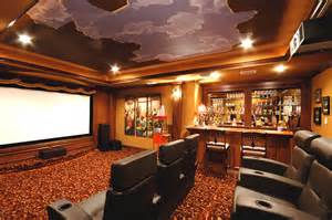 Exceptional Tv Cabinet Design For Living Room #7: Eclectic-home-theater.jpg