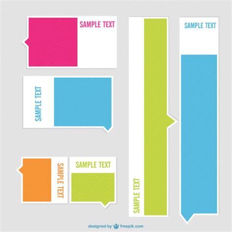 minimalist design banner minimalist labels design vector free download