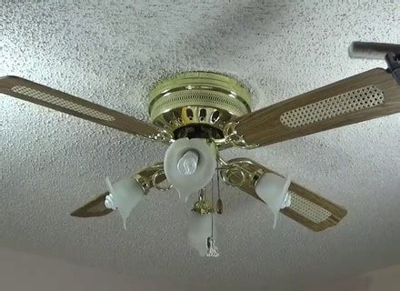 how to clean fan blades how to clean dusty ceiling fan in two minutes youtube
