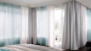 Ikea Drapery Curtain Tracks Cope With Corners