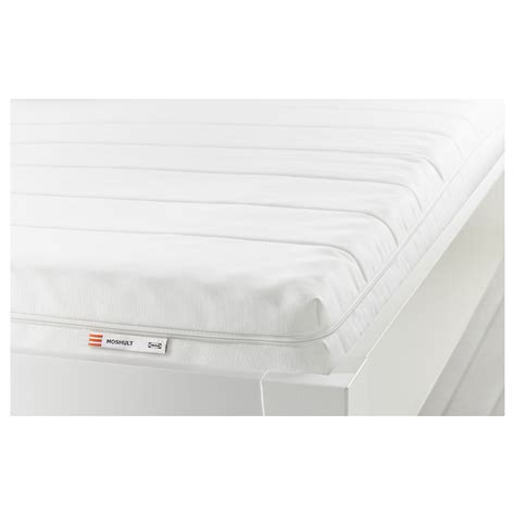 ikea bed mattress moshult foam mattress firm white 80x200 cm ikea