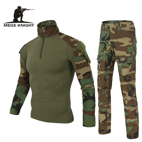 Seragam Camo Army Clothing Tactical Airsoftsport Frog