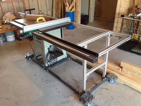 grizzly table saw fence upgrade 1000 images about 80 20 on pinterest cnc linear