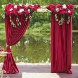 Wedding Arches On A Budget 40 Outdoor Fall Wedding Arch And Altar Ideas Hi Miss Puff