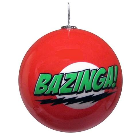big bang theory bazinga ball ornament ripple junction