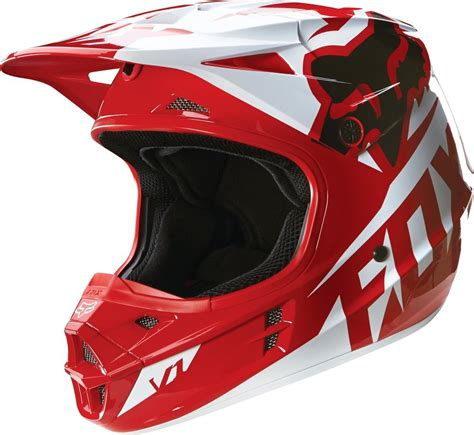 fox helmet 169 95 fox racing v1 race dot helmet 234762