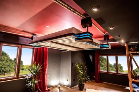 bed hanging from ceiling two hanging beds that take comfort to a new level