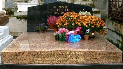 Location Chaise File Grave Of Colette Cimeti 232 Re Du P 232 Re Lachaise Paris
