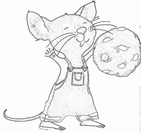 if you give a mouse a cookie coloring pages gianfreda net