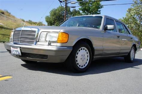 who is the owner of mercedes benzpany 1991 mercedes 420 class 420sel in el cajon ca 1