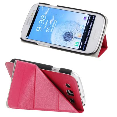Horizontal Flip Leather Cover With Holder For Samsung Galaxy Siii I9300 White Sssc0ewh Horizontal Flip Leather Cover With Holder For Samsung