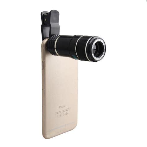 universal  zoom mobile phone clip  telephoto camera lens  iphone   se ebay