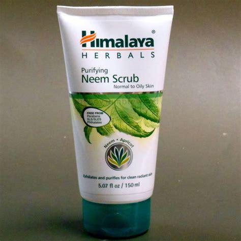 Himalaya Neem Scrub himalaya herbals purifying neem scrub apricot skin