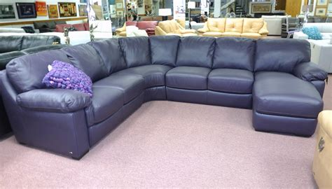 Navy Blue Leather Sectional Sofa Cleanupflorida Com Navy Blue Leather Sectional Sofa