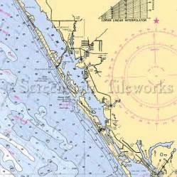 florida englewood nautical chart decor