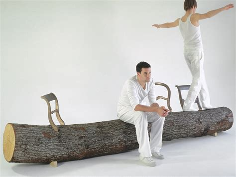 tree trunk benches tree trunk bench droog a different perspective on design