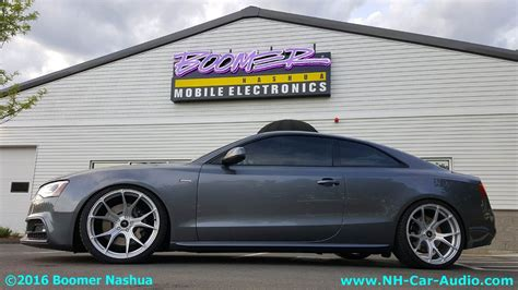 Audi A5 Mobile by Audi A5 Custom Wheels Boomer Nashua Mobile Electronics