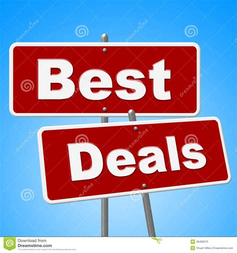 best for sales best deals signs shows cheap promotion and sales stock