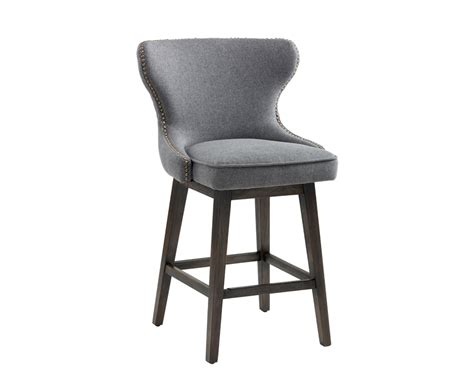 fabric counter stools canada swivel counter stool grey fabric