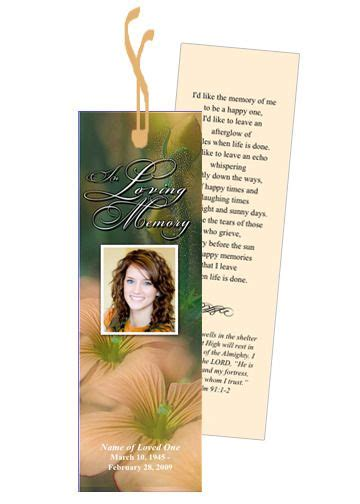 memorial bookmarks templates 21 best marriage anniversary images on