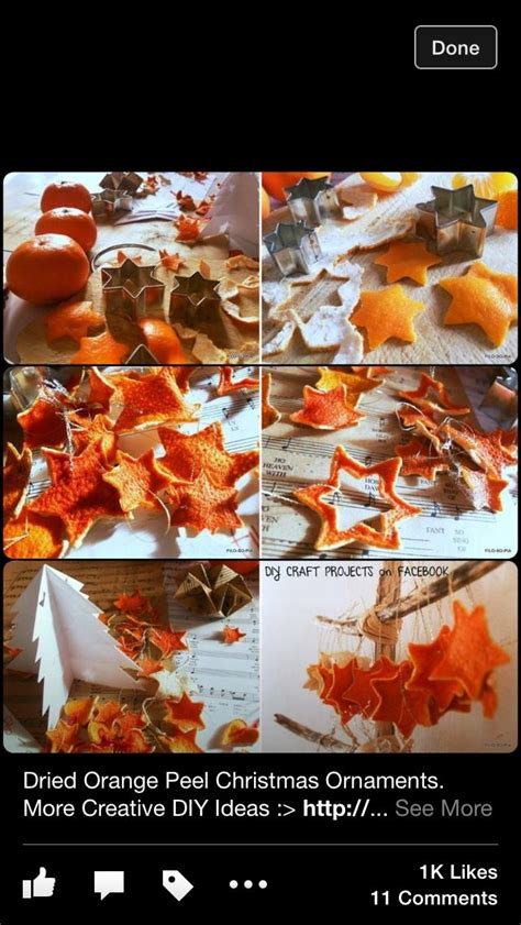 dried orange christmas decorations projets 224 essayer