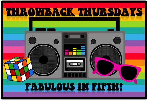 throwback thursday s free s fabulous in fifth throwback thursday back to school