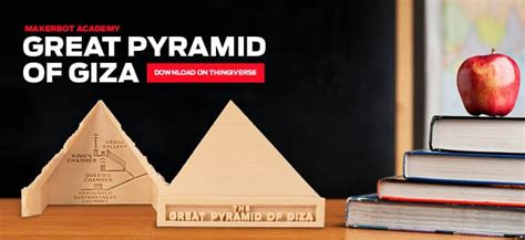 Piramid Printing explore the great pyramid of giza with this 3d printed model