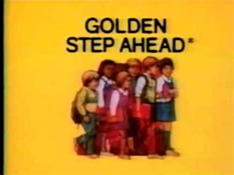 step ahead with rust books golden step ahead logo 1985