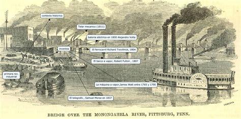 barco de vapor segunda revolucion industrial primera revolucion industrial