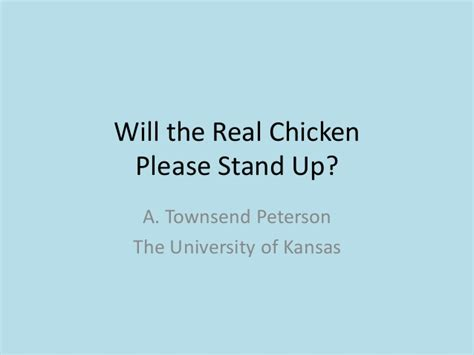 Will The Real Iphone Stand Up by Will The Real Chicken Stand Up