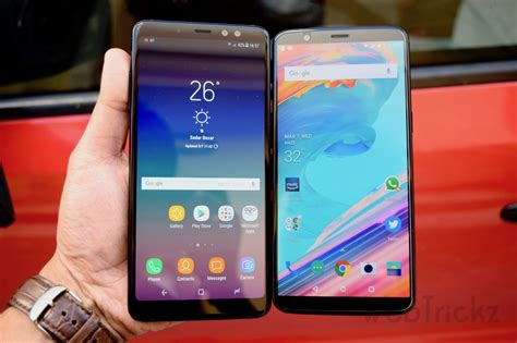 Samsung A8 Vs Note 4 samsung galaxy a8 vs oneplus 5t benchmark comparison