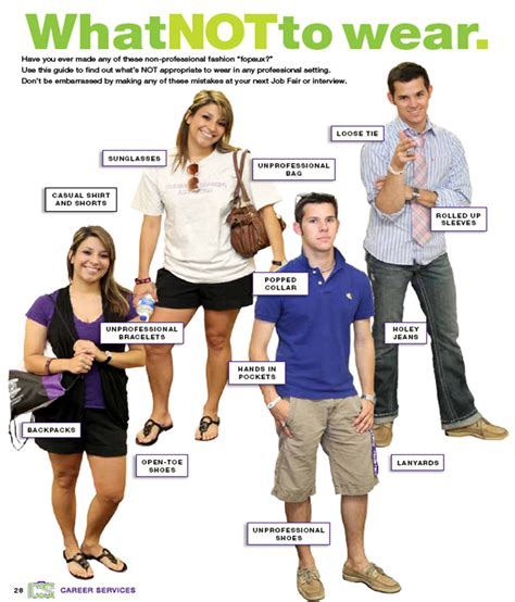 Get The Look How Not To Wear A Coat by Professional Attire Career Services Tarleton State