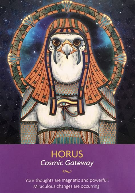 The Of Horus horus archangel oracle guidance