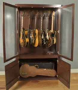 Homemade Guitar Cabinet Guitar Storage On Pinterest Guitar Display Guitar Room