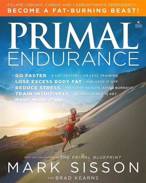 endurance books primal endurance primal blueprint publishing