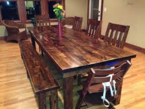 8 rustic farmhouse table rustic dining tables other metro by james and james furniture