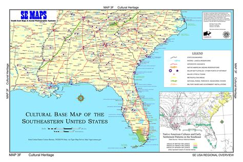 road map of southeastern usa road map of southeast united states southeastern united