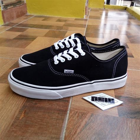 Vans Authentic Dt jual sepatu vans authentic black white hitam putih