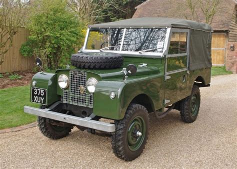 land rover defender series 1 s to be restored and sold
