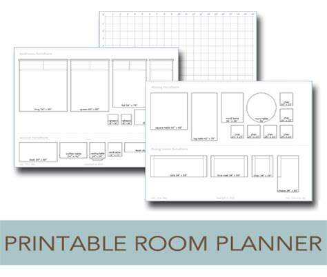 Printable Room Layout Planner | printable room planner to help you plan your layout life