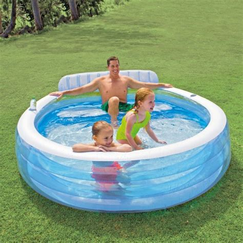 Family Swim Center Pool 185cm intex 174 swim center family lounge pool