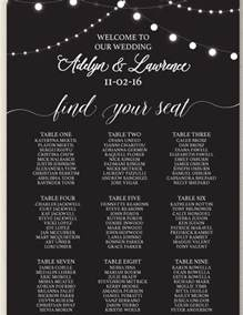Wedding Seating Chart Template Word by Wedding Seating Chart Template 16 Exles In Pdf Word