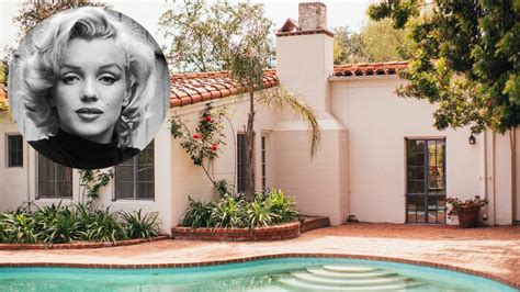 marilyn monroe home marilyn monroe s hollywood home for sale harper s bazaar