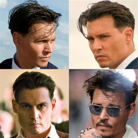 Johnny Depp Hairstyles   Men's Hairstyles   Haircuts 2017