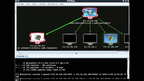 tutorial hacking linux with armitage tutorial armitage metasploit framework youtube
