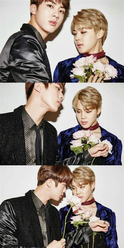 bts jin father jin and jimin bts for gq korea magazine december issue