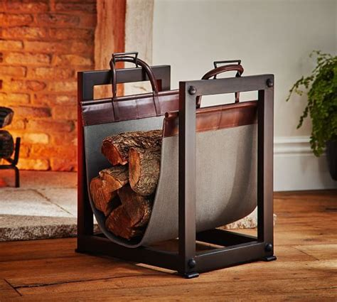 25 best ideas about log holder on firewood