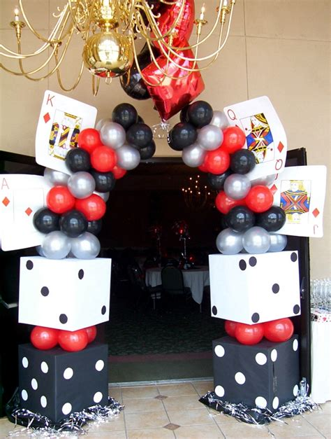 casino themed decorations school functions