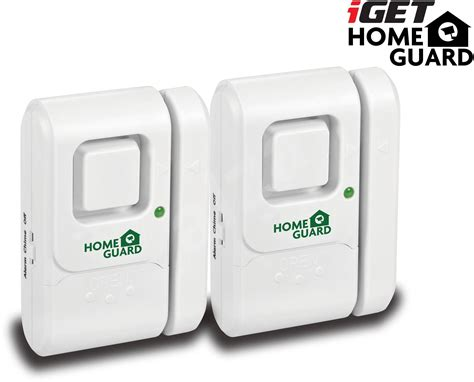 iget homeguard hgwda512 security alarm alzashop