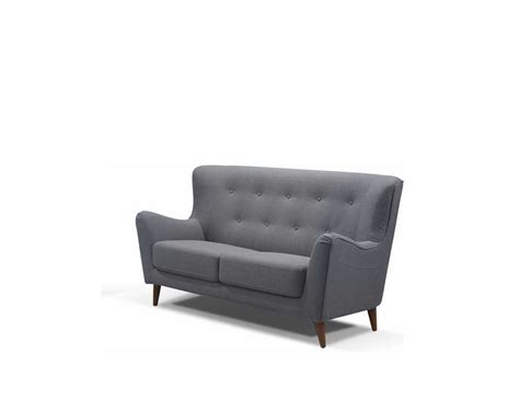 tufted grey sofa retro grey button tufted sofa ds 076 fabric sofas